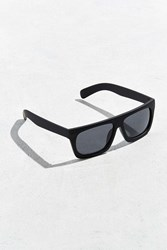 Urban Outfitters Flat Top Wide Sunglasses Washed Black