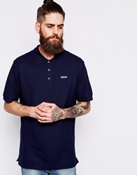 Patagonia Polo With Logo Regular Fit Navyblue