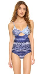 Somedays Lovin Open Eyes Contrast One Piece Multi
