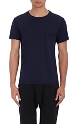 Nsf Men's Paulie Inside Out T Shirt Blue