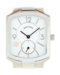 Philip Stein Teslar Small Classic Chronograph Watch Head Silver