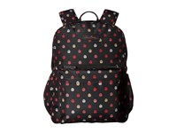 Vera Bradley Lighten Up Grande Laptop Backpack Havana Dots Backpack Bags Black