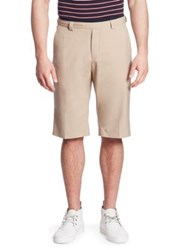 Hilfiger Edition Tailor Wool Shorts Silver Mink