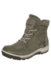 Ecco Trace Lite Walking Boots Birch Burgundy Brown