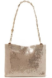 Paco Rabanne Pixel 1969 Chainmail Shoulder Bag Gold