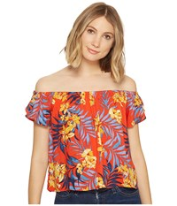 Rip Curl Tropicana Top Red Women's Clothing