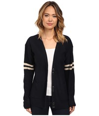 Obey Washburn Cardigan Navy Women's Sweater