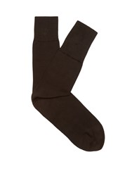 Falke Tiago Cotton Blend Socks Brown