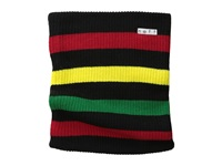 Neff Daily Stripe Gaiter Black Rasta Scarves