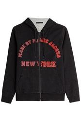 Marc By Marc Jacobs University Logo Hoodie Black