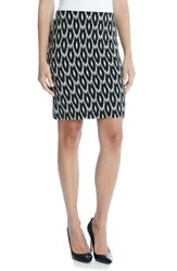 Karen Kane Women's Jacquard Knit Pencil Skirt