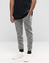Criminal Damage Skinny Joggers With Fleck Grey