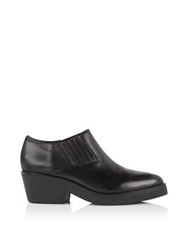 Ash Sheryl Low Cut Heeled Ankle Boot Black