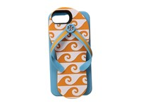 Tory Burch Flip Flop Silicon Case For Iphone 7 Orange Grove White Cell Phone Case Blue