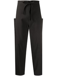 Maison Rabih Kayrouz High Waisted Tapered Trousers 60