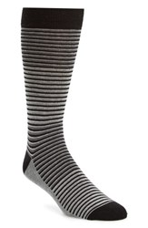 Ted Baker Men's London Chapel Stripe Socks Black