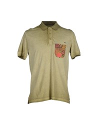Red Dog Topwear Polo Shirts Men Military Green
