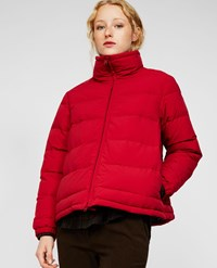 Aspesi Down Jacket Tarallo Bordeaux