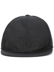 Givenchy Logo Embroidered Hat Black