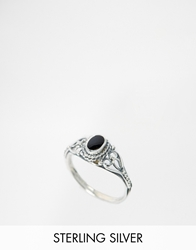 Regal Rose Black Tide Ring