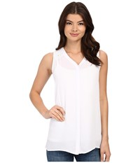 Christin Michaels Martinique Top White Women's Clothing