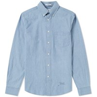 Gant Rugger Chambray Shirt Blue