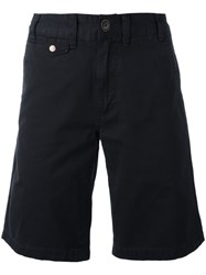 Barbour Neuston Twill Shorts Blue