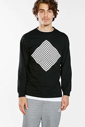 Icny X Without Walls Diamond Long Sleeve Tee Black