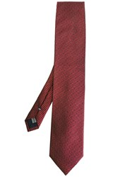 Pal Zileri Printed Tie Brown