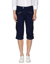 Marithe' F. Girbaud Le Jean De Marithe Francois Girbaud Trousers Bermuda Shorts Men Dark Blue