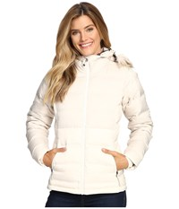 Columbia North Protection Hooded Jacket Chalk Women's Coat White