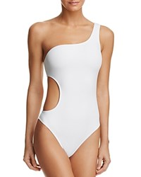 Milly Guana One Piece Swimsuit White
