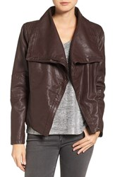 Levi'sr Women's Levi's Cowl Neck Faux Leather Jacket Port