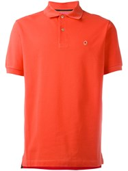 Paul Smith Classic Polo Shirt Yellow Orange