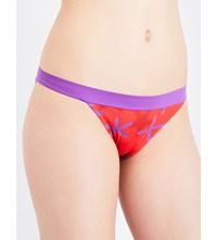 La Perla Summer Energy Bikini Bottoms Red