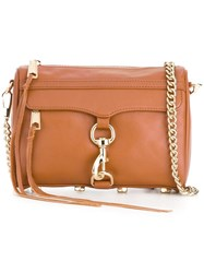 Rebecca Minkoff Mini 'Mac' Cross Body Bag Brown