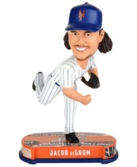 Forever Collectibles Jacob Degrom New York Mets Headline Bobblehead Blue