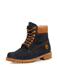 Timberland X Cone Denim Heritage 6 Premium Hiking Boot