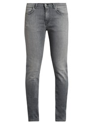 Acne Studios Ace Slim Leg Jeans Light Grey