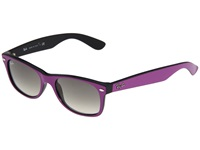 Ray Ban Rb2132 New Wayfarer Medium 52Mm Cyclamen Black Plastic Frame Fashion Sunglasses Purple