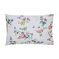 Cath Kidston Birds And Roses Pillowcase Chalk