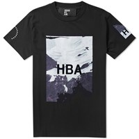 Hood By Air Wall Box Tee Black