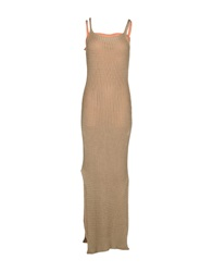 Betty Blue 3 4 Length Dresses Camel