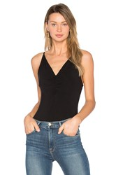 Alexander Wang Shirred Cami Black