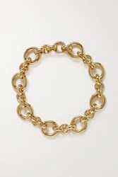 Laura Lombardi Calle Gold Plated Necklace One Size