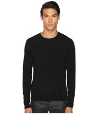 Versace Knit Pullover Sweater Black Men's Sweater