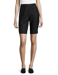 Nic Zoe Perfect Bermuda Dress Shorts Black Onyx