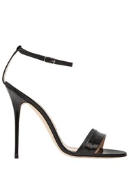 Manolo Blahnik 115Mm Spezia Leather Sandals