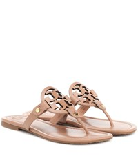 ea9bc9d4734 Tory Burch Miller Leather Sandals Brown