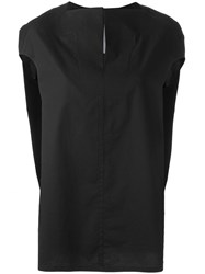 Rick Owens Floating Top Black